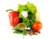 Colorful mix of vegetables Stock Image