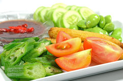 Colorful Mixed Salad. Stock Photography