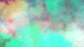 Colorful mixing of smoke, best use in background of festival celebrations and corporate presentation stock footage