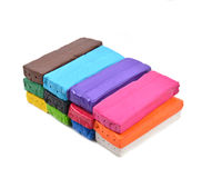 Colorful modeling clay or plasticine for children Stock Photography