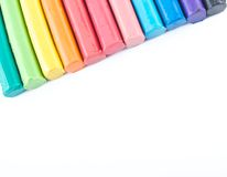 Colorful Modeling clay Stock Image