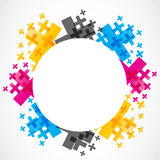Colorful abstract design Royalty Free Stock Photography