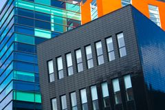 Colorful modern architecture Royalty Free Stock Photos