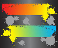 Colorful modern banners. Vector illustration Royalty Free Stock Photo