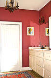 Colorful Modern Bath Stock Image