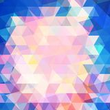 Colorful modern geometric background. Vector illustration Royalty Free Stock Photos