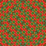Colorful Modern Geometric Seamless Pattern Royalty Free Stock Photography