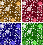 Colorful modern geometric vector backgrounds set Royalty Free Stock Image