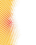Colorful modern halftone background Stock Photography