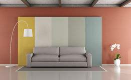 Colorful modern lounge Royalty Free Stock Photography