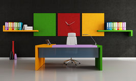 Colorful modern office Stock Photography