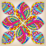 Colorful modern ornament Royalty Free Stock Photo