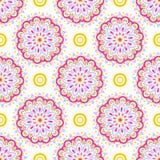 Colorful Mandala Pattern Royalty Free Stock Images