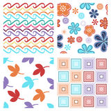 Colorful modern seamless pattern Stock Images