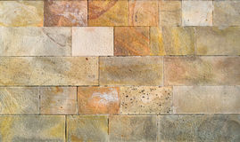 Colorful modern stone wall Royalty Free Stock Image