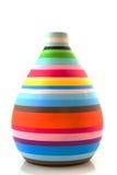Colorful modern vase Stock Photo