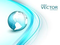Colorful modern vector template Stock Image