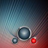 Colorful modern vector template Stock Photos