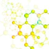 Colorful molecule bond background (vector). Colorful molecule bond background, create by vector Stock Photos