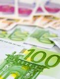 Colorful money Stock Photos