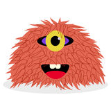 Colorful monster for you design Stock Image