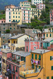 Colorful Monterosso Buildings Stock Photos