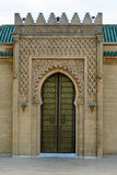 Colorful Moroccan Arched Doorway Stock Image
