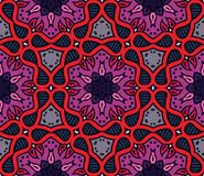 Colorful moroccan ornament in vector. Colorful moroccan ornament, vector seamless pattern Royalty Free Stock Photography
