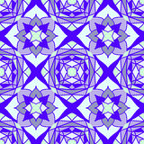 Colorful Moroccan tiles ornaments. Can be used for. Wallpaper, pattern fills, web page background, surface textures. Vector illustration Stock Image