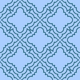 Colorful Moroccan tiles ornaments. Can be used for. Wallpaper, pattern fills, web page background, surface textures. Vector illustration Royalty Free Stock Photos