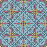 Colorful Moroccan tiles ornaments. Vector illustration Royalty Free Stock Images
