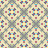 Colorful Moroccan tiles ornaments. Vector illustration. Colorful Moroccan tiles ornaments. Can be used for wallpaper, pattern fills, web page background, surface Royalty Free Stock Photography