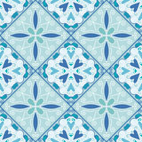 Colorful Moroccan tiles ornaments. Vector illustration Royalty Free Stock Photography