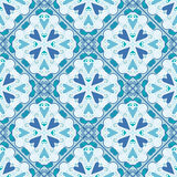Colorful Moroccan tiles ornaments. Vector illustration Royalty Free Stock Image
