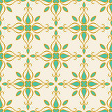Colorful Moroccan tiles ornaments. Vector illustration Stock Photo