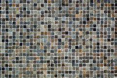 Colorful mosaic. Texture made of small square tiles Royalty Free Stock Photo
