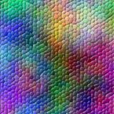 Colorful mosaic. Multicolored mosaic background (rendered image royalty free illustration