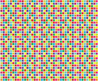 Colorful mosaic. Abstract - colorful pixels with white backgrounds Royalty Free Stock Photography