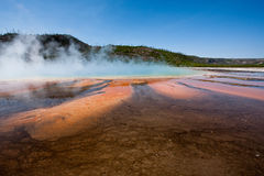 Colorful Mosaic At Grand Prismatic Spring Stock Image