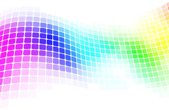 Colorful mosaic background Stock Photos