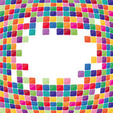 Colorful mosaic background. Stock Photo