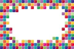 Colorful mosaic background. Royalty Free Stock Photo