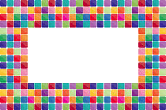 Colorful mosaic background Royalty Free Stock Photography