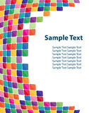 Colorful mosaic background Royalty Free Stock Photos