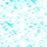 Colorful mosaic background. Blue and white colors. Colorful mosaic background. Vector art illustration. Blue and white colors Stock Photo