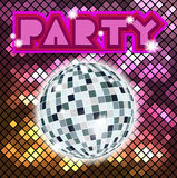 Colorful mosaic background for party. Stock Photo
