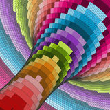 Colorful Mosaic Background. Polygonal Vector Illustration Royalty Free Stock Images