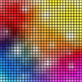 Colorful mosaic background. Royalty Free Stock Photo
