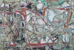Colorful mosaic background, street graffiti, Royalty Free Stock Photo