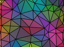 Colorful mosaic banner. Royalty Free Stock Photo